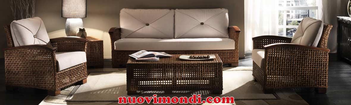 Mobili in rattan vendita on line arredamento rattan prezzi for Mobili in rattan