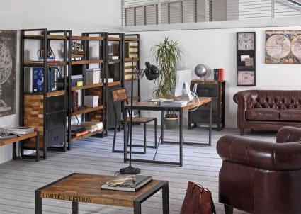 Industrial vintage arredamento mobili in stile industriale e vintage - Arredamento casa vintage ...