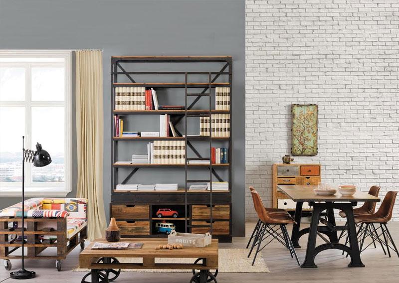Arredamento stile industrial vintage arredare stile industriale online - Arredamenti vintage casa ...