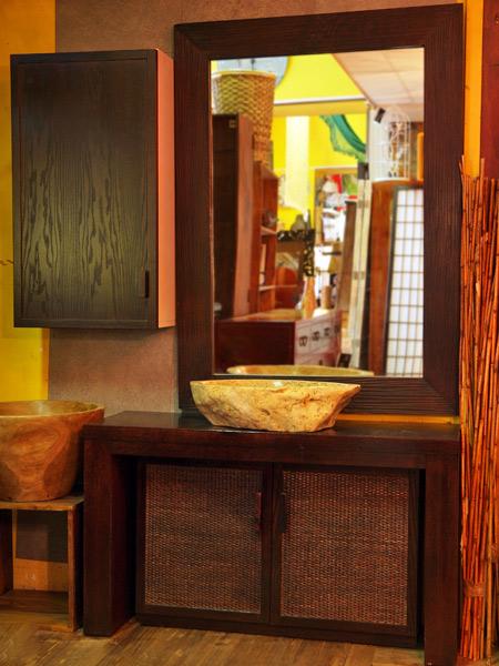 Arredo bagno etnico mobili bagno online componibili in for Arredamento etnico torino