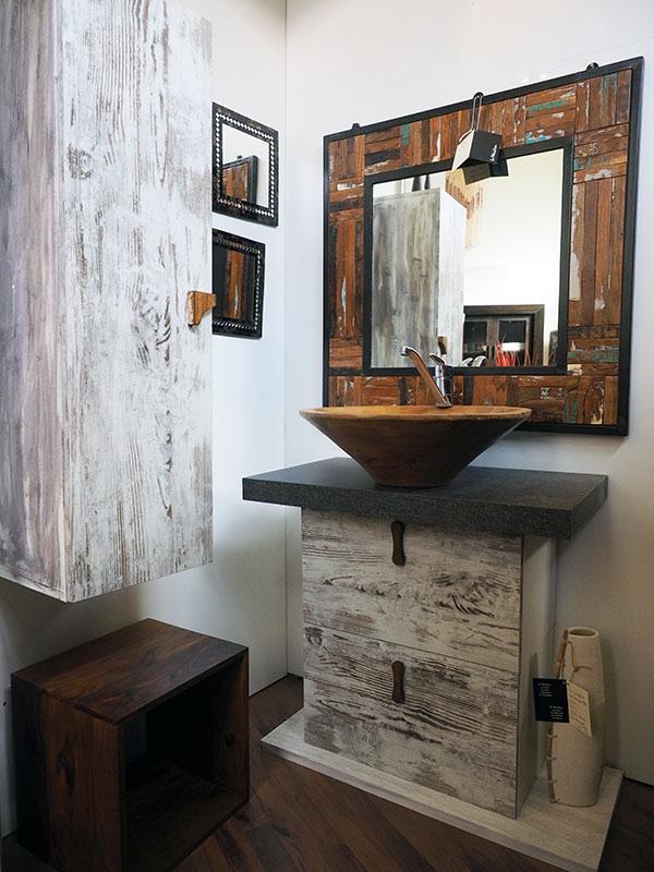 Arredo bagno etnico mobili bagno online componibili in for Mobili bagno vintage