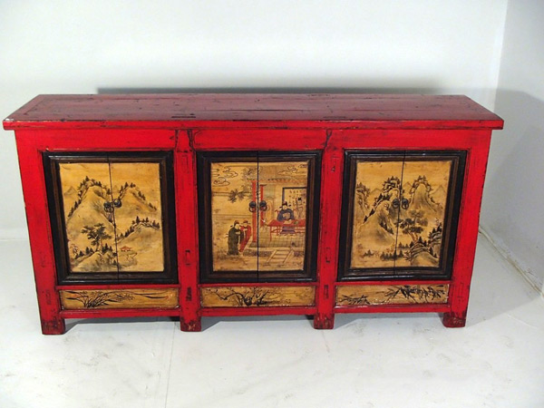 Credenza Vintage Per Cucina : Armadi credenze etniche coloniali cina tibet mongolia india