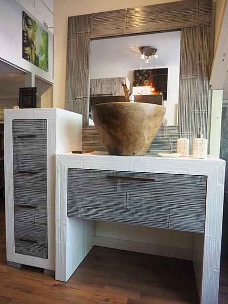 Arredo bagno etnico mobili bagno online componibili in stile zen - Arredo bagno etnico ...