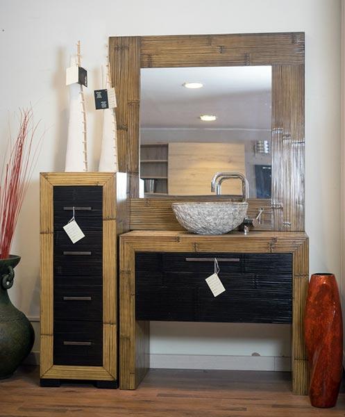 Mobili per bagno antichi design casa creativa e mobili - Mobile bagno teak ...