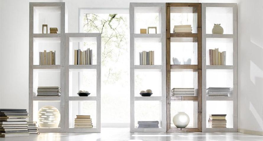 Prezzo Libreria Su Misura.Librerie Etniche Prezzi On Line Librerie Con Scala Rotonde E Bambu