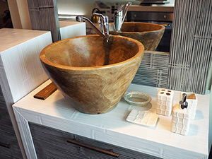 Arredo bagno stile etnico mobili da bagno stile zen - Mobile bagno etnico ...