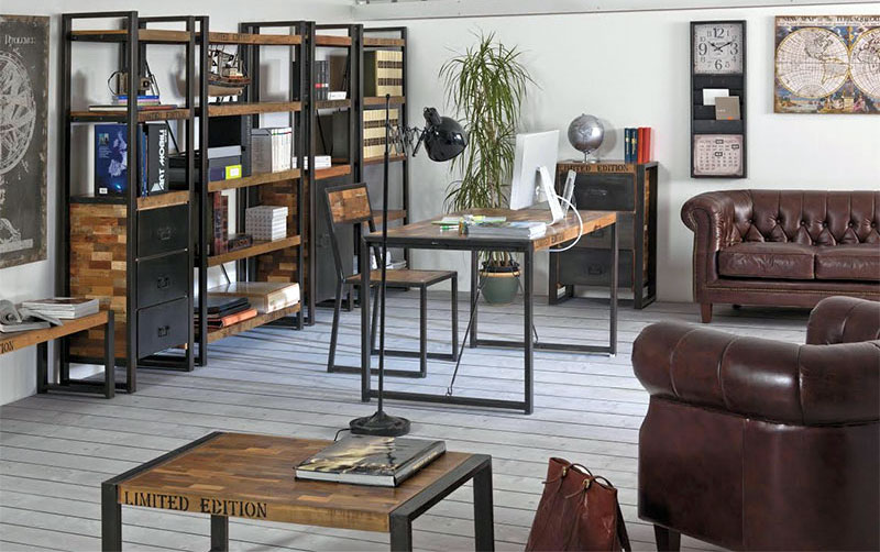 Arredamento stile industrial vintage arredare stile for Look industriale per case