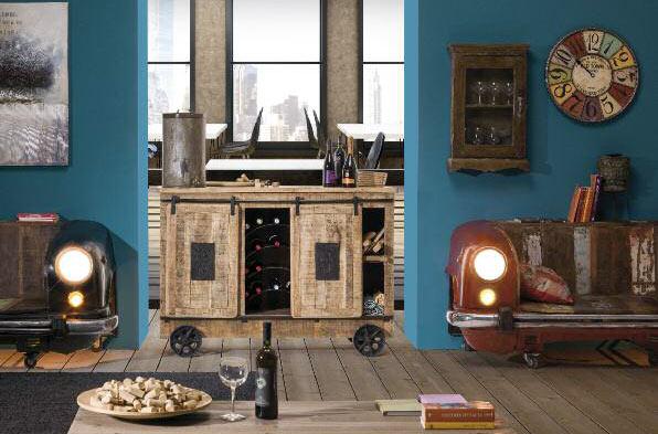 Arredamento stile industrial vintage arredare stile for Bar stile industriale