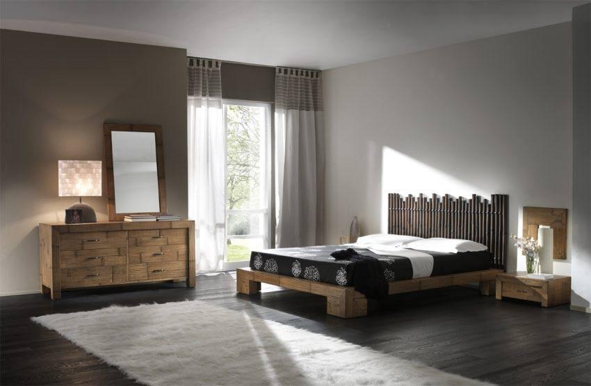 camere da letto etniche prezzi on line letti orientali in bambu - Letto Matrimoniale Etnico