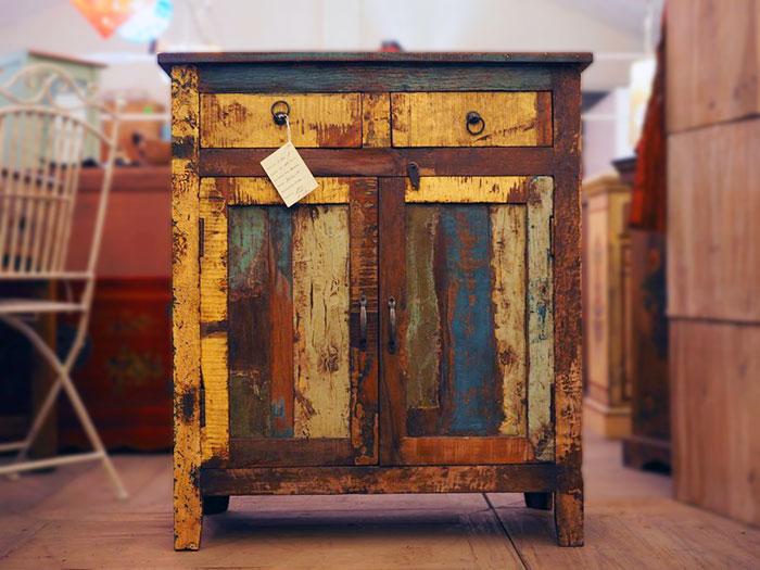 Credenza vintage offerta nuovimondi - Mobili con legno riciclato ...