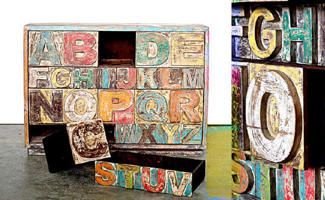 Mobili Legno Riciclato Verona : Mobili legno riciclato arredo ecocreativo mobili riciclati