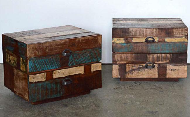 Mobili legno riciclato arredo ecocreativo