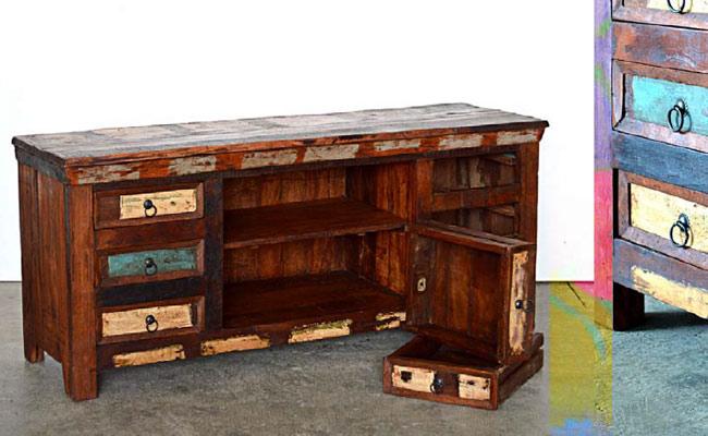 Mobili legno riciclato arredo ecocreativo mobili riciclati - Mobili con legno riciclato ...