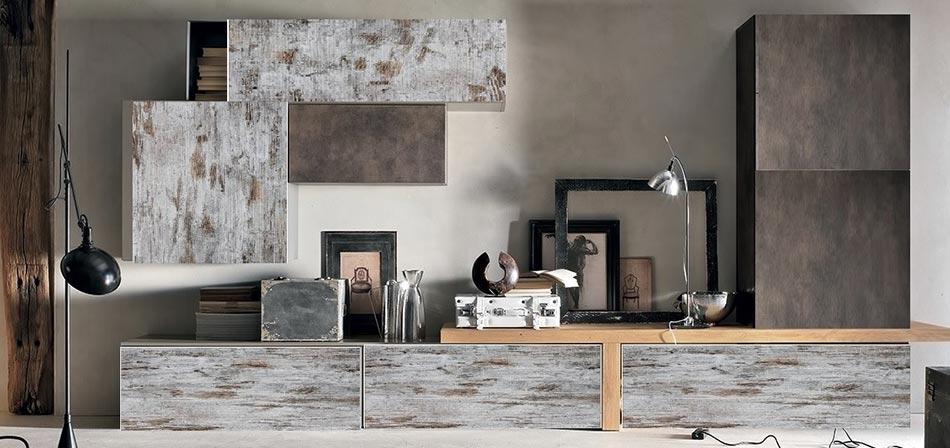 Soggiorni etnici pareti attrezzate soggiorno componibile for Abbinamenti colori salotti