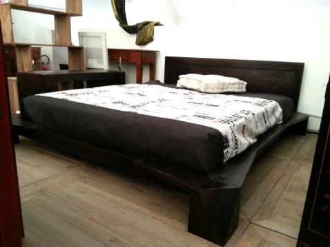 Letto etnico futon nuovimondi for Letto futon