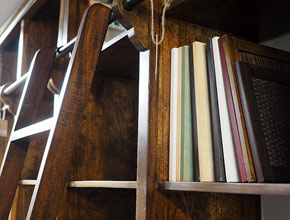 librerie-con-legno-massello