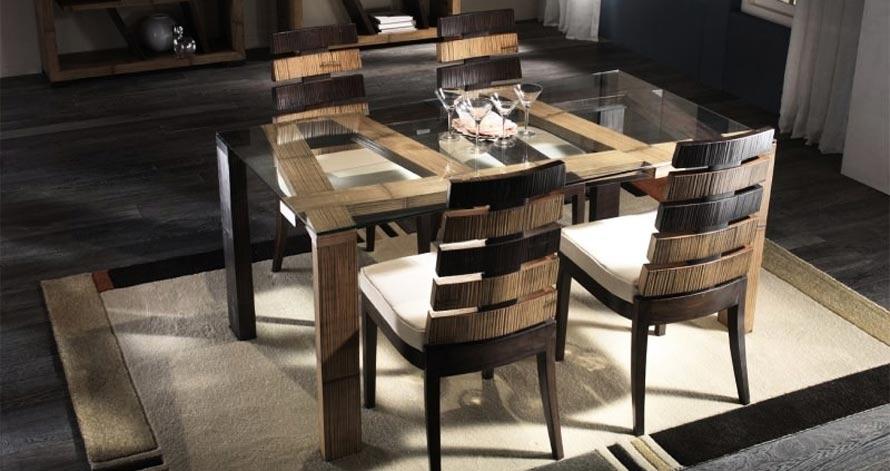 Tavoli etnici scrivanie e consollle for Tavoli in legno allungabili massello