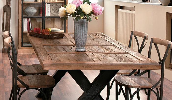 Tavoli etnici scrivanie e consollle - Tavoli vintage legno ...