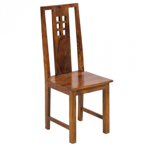 Sedia etnica in legno massello offerta online prezzo stock for Offerta sedie legno