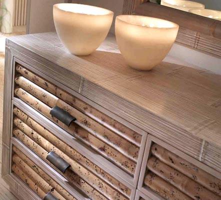 Cassettiere etniche on line prezzi cassettiere in legno massello teak