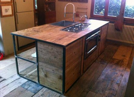 Piano Cucina In Legno Lamellare : Piano cucina legno massello good best with piano cucina