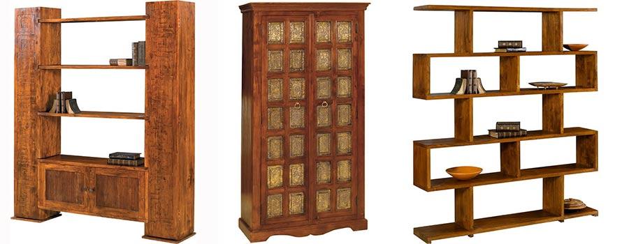 sheesham legno massiccio nell\'arredamento di mobili etnici