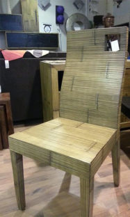 sedie crash bambu