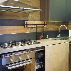 cucina industrial moderna