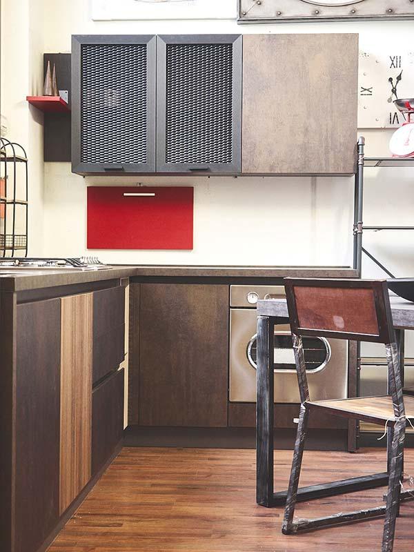Cucina industrial cucina moderna in stile industriale componibile - Cucine in ferro ...