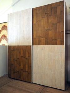 Camere da letto etniche for Armadio dispensa moderno