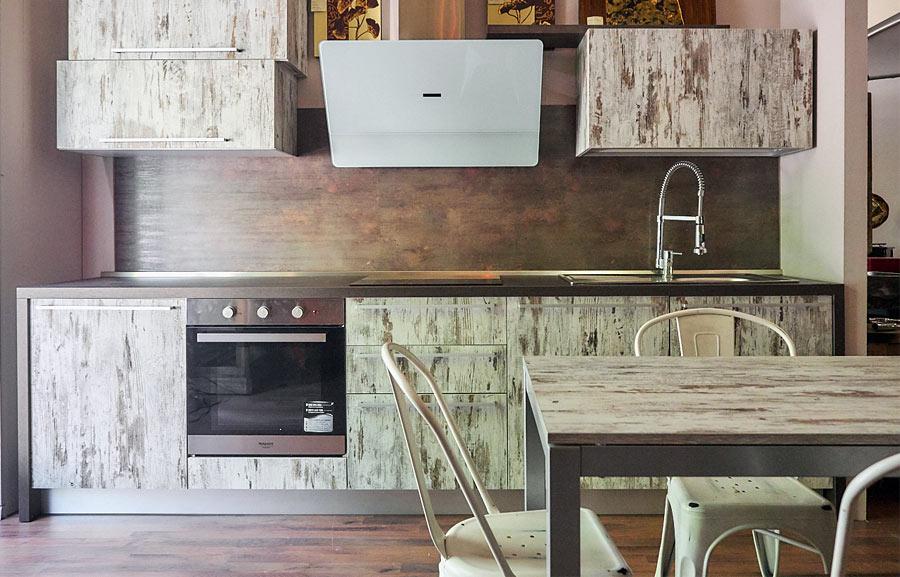 Cucina moderna lineare offerta prezzo outlet ribassato