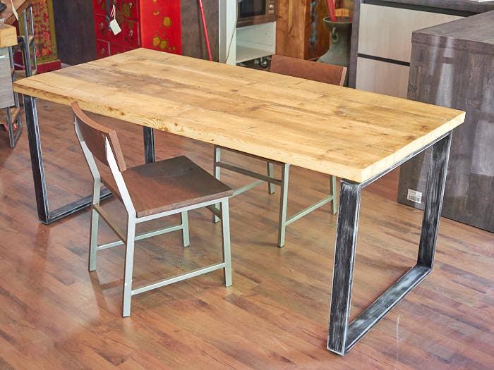 Tavoli legno ferro vendita particolari ed originali a prezzi stock