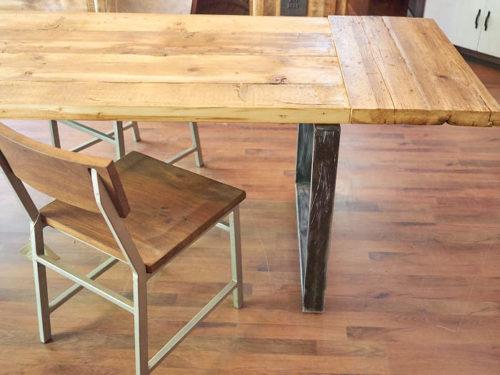 tavolo industrial allungabile