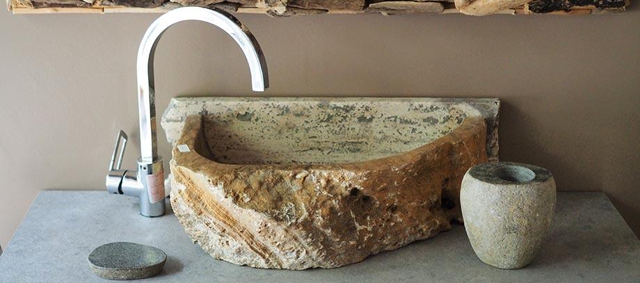 lavabi in pietra da bagno