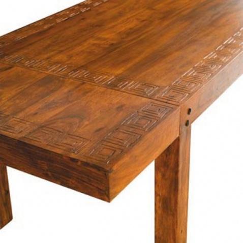 Tavolo allungabile etno nuovimondi for Tavolo consolle allungabile legno massello
