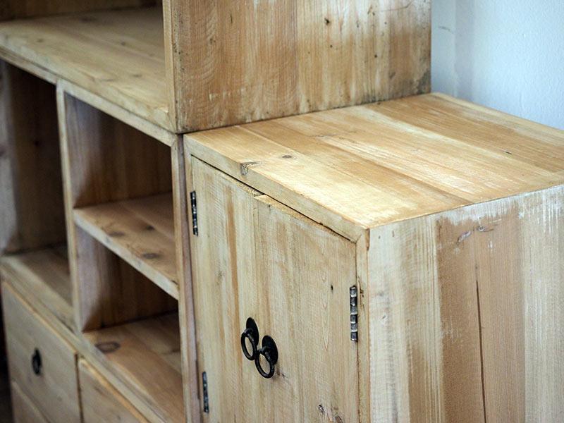 Top Mobile componibile legno riciclato - nuovimondi BN97