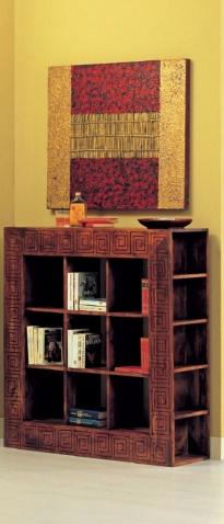 Libreria etnica cubi nuovimondi for Libreria a cubi componibili