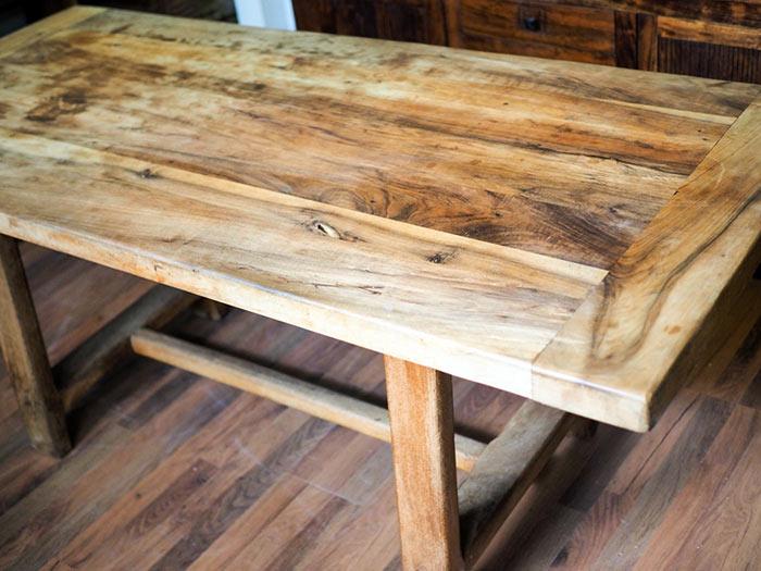Tavolo in teak tavolo da pranzo in legno massello ...