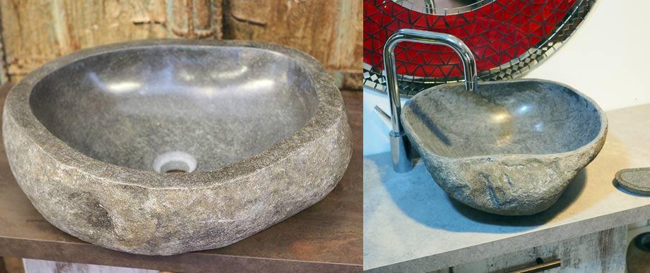 Lavabi in pietra da bagno lavandini - Lavandino in pietra per esterno ...