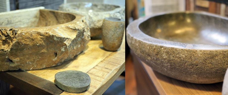 Lavabi in pietra da bagno lavandini - Bagno in pietra ...