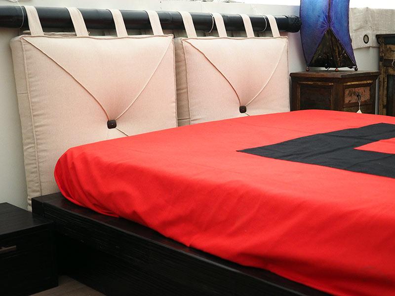 Testate Letto In Legno Offerte : Letto etnico testata cuscini letto in bamboo prezzo offerta