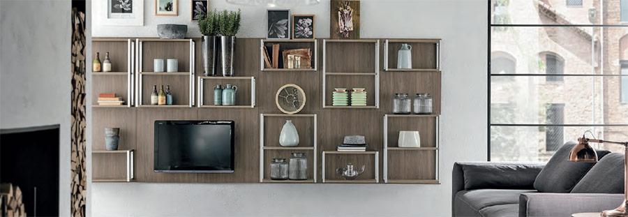 Arredamenti per loft moderni cucine zona living for Arredare zona living