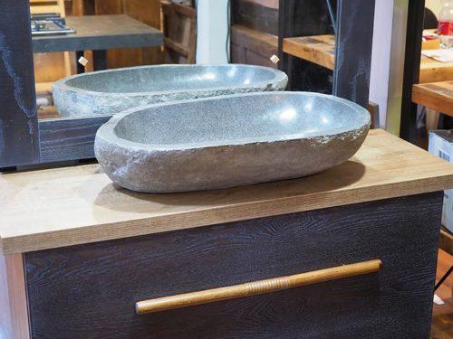 mobile da bagno grigio