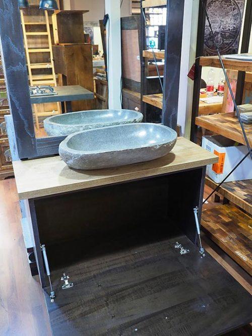 mobile bagno grigio