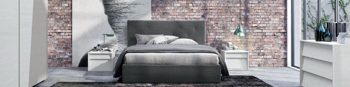 Camera da letto completa in offerta etnico moderna