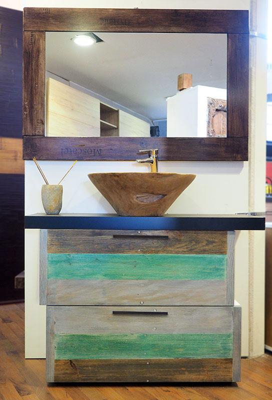 Mobile bagno vintage modern recycle nuovimondi - Cucine etniche arredamento ...