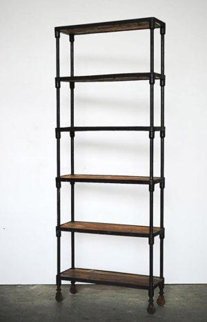 libreria ferro battuto