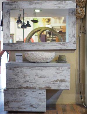 Mobile bagno iroko vintage
