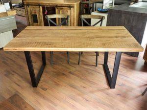 Libreria industrial nuovimondi - Tavolo legno e ferro ...