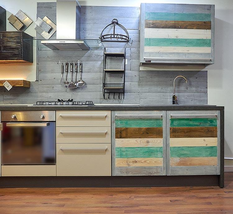 Misure Pensili Cucina : Cucina linea eco vintage stile con ante in legno